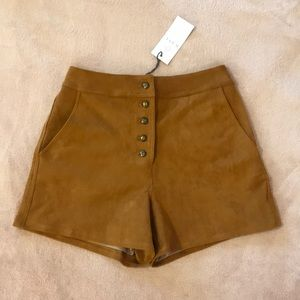 Wayf High Waisted Shorts